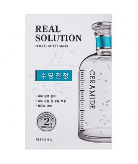 MISSHA Гелевая маска для лица Real Solution Tencel Sheet Mask (Soothing)i 7,0