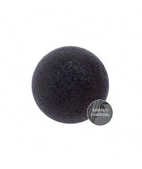 MISSHA Спонж косметический Soft Jelly Cleansing Puff (Bamboo Charcoal) 9,0