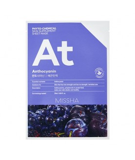 MISSHA Маска для лица  Phytochemical Skin Supplement Sheet Mask Anthocyanin/Lifting 7,5