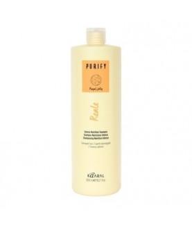 KAARAL Восстанавливающий шампунь для поврежденных волос с пчелиным маточным молочком Royal Jelly cream 1000мл 33,7