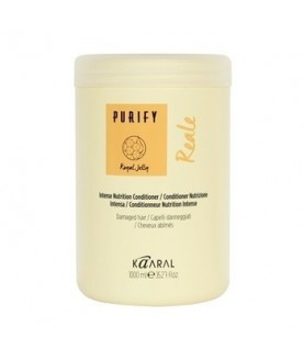 KAARAL Интенсивный восстанавливающий кондиционер для поврежденных волос PURIFY REALE 1000мл 35,5