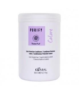 KAARAL  Кондиционер для окрашенных волос с экстрактом, маслом маракуйя PURIFY COLORE CONDITIONER 1000мл 29,5
