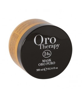FANOLA Восстанавливающая маска с кератином, аргановым маслом Oro Therapy 24k Oro Puro 300 мл 20,6