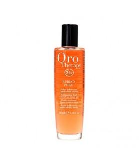 FANOLA Сыворотка для волос  с микрочастицами золота и рубина Oro Therapy 24k Oro Puro 100мл 38,8