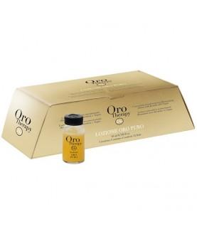 FANOLA Концентрированный реструктуризирующий лосьон Oro Therapy 24k Oro Puro 10млх12 68,4