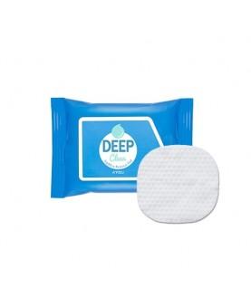 A'PIEU Маска на ватном диске для снятия макияжа Deep Clean Lip&Eye Remover Pad 45г 7,5