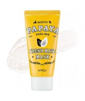 A'PIEU Очищающая маска для лица Fresh Mate Papaya Mask (Peeling)50мл 13,5