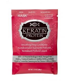 HASK Маска для придания гладкости волосам с протеином Кератина 50 г 8,9
