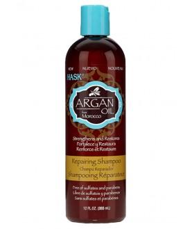 HASK Восстанавливающий шампунь для волос с Аргановым маслом 355 мл 22,4