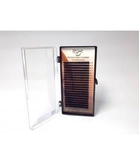 i-BEAUTY 75 Микс ресницы для наращивания черные 20 линий толщина 0,12мм., изгиб С, 29,5