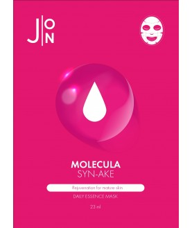 J:ON Тканевая маска для лица ЗМЕИНЫЙ ПЕПТИД MOLECULA SYN-AKE DAILY ESSENCE MASK  2,2