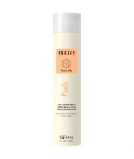 KAARAL Восстанавливающий шампунь для поврежденных волос с пчелиным маточочным молочком REALE SHAMPOO 100мл 6,8