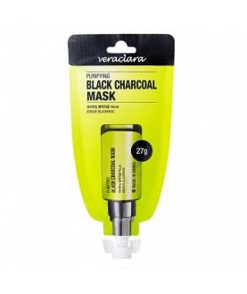 VERACLARA Маска угольная очищающая PURIFYING BLACK 27г 7,5