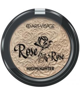 ART-VISAGE Компактный хайлайтер `Perfect Shine`  Rose by Rose 11,9