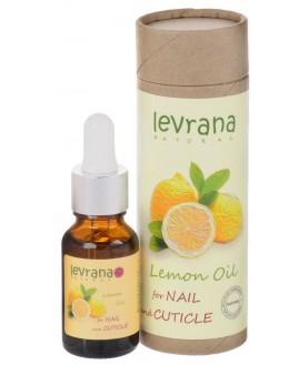 LEVRANA Масло для кутикулы  `Лимон`, 15 ml. 9,9