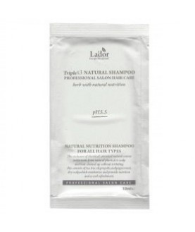 LA'DOR Органический шампунь для волос (пробник) LA'DOR TRIPLEX NATURAL SHAMPOO POUCH 10мл 1,3
