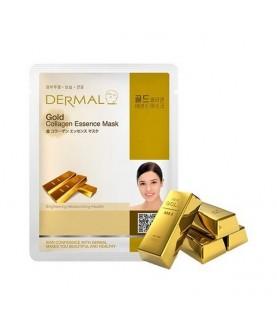 DERMAL Маска для лица Коллоидное золото и коллаген/ Gold Collagen Essence Mask, 23г 2,9