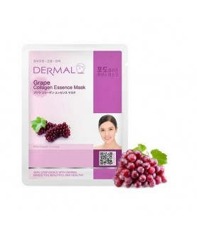 DERMAL Маска для лица Виноград и коллаген/ Grape Collagen Essence Mask, 23г 2,9