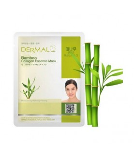 DERMAL Маска для лица Бамбук и коллаген/Bamboo Collagen Essence Mask, 23г 2,9