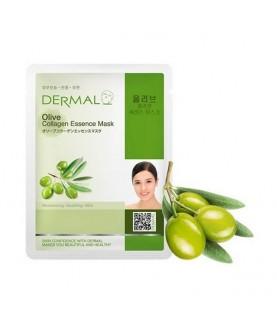 DERMAL Маска для лица Олива и коллаген/Olive Collagen Essence Mask, 23г 2,9