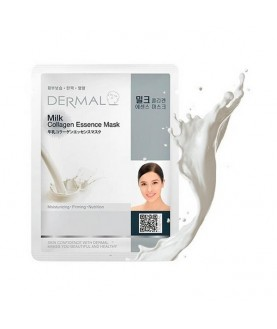 DERMAL Маска для лица Молочные протеины и коллаген /Milk Collagen Essence Mask, 23г  2,9
