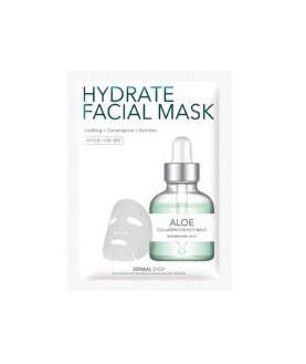 DERMAL SHOP Маска для лица активное увлажнение Алоэ /Aloe Hydrate Facial Mask, 25г 4,9