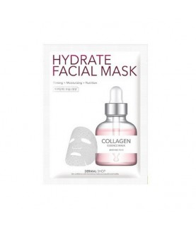 DERMAL SHOP Маска для лица активное увлажнение Коллаген/Collagen Hydrate Facial Mask, 25г 4,9