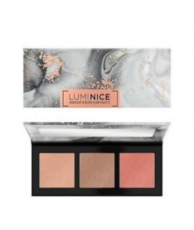 CATRICE Палетка для макияжа лица Luminice Highlight & Blush Glow Palette 12,6 г 20,3