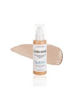 ENOUGH Увлажняющий тональный крем с коллагеном Collagen 3 in1 Whitening Moisture Foundation SPF 15, 100 мл 22,9