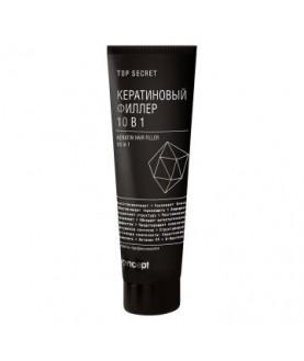 CONCEPT Top secret кератиновый филлер д/волос 10 в 1 100 мл 13,6
