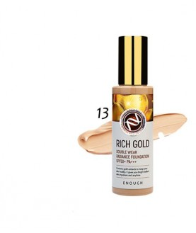 ENOUGH Крем тональный Rich Gold Double Wear Radiance Foundation, SPF50+ PA+++ 100 мл 30,9