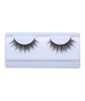 JUST EyeLashes Профессиональные накладные ресницы (синтетика) Эффект 3D № 704 9,0