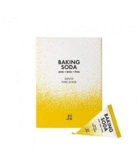 J:ON Набор/ Скраб для лица с содой BAKING SODA GENTLE PORE SCRUB, 20 шт * 5гр 40,0