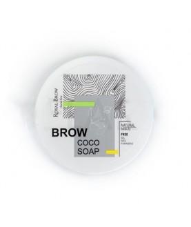 Royal Brow Фиксатор для бровей Royal Brow Soap с экстрактом кокоса, 55 гр