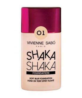 VIVIENNE SABO Тональный крем с натуральным блюр эффектом `Shaka Shaka` 25мл   24,5