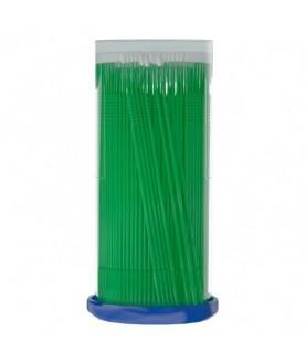 BRONSUN Микрощеточки безворсовые, 1мм, зеленые (S), 100шт 12,0