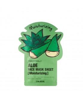 Tony Moly Маска для лица с экстрактом алоэ I`m Aloe Mask Sheet Moisturizing  21 мл