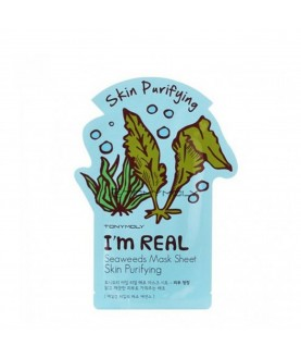 Tony Moly Маска для лица с экстрактом водорослей I`m Seaweed Mask Sheet Skin Purifying  21 мл
