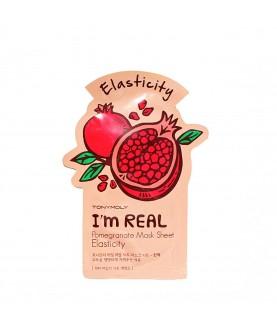Tony Moly Маска для лица с экстрактом граната I`m Pomegranate Mask Sheet Elasticity  21 мл