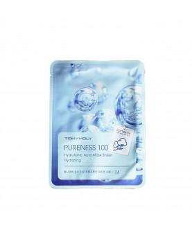 Tony Moly Маска д/лица с гиалуроновой кислотой Pureness 100 Mask Sheet Hyaluronic Acid  21 мл