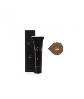 IKKI Гель-краска для бровей IKKI, 15 мл, в тубе, тон серо-коричневый (grey brown)