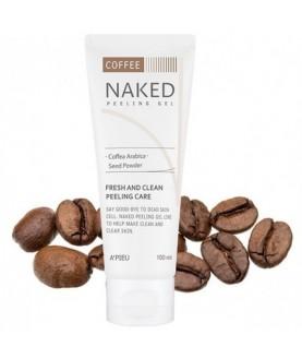 A'PIEU Гель-скраб для лица Naked Peeling Gel (Coffee) 100мл
