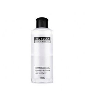 A'PIEU Жидкость для снятия макияжа All Clean Lip&Eye Remover (White Lily) 160мл