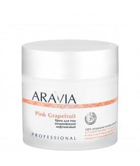 ARAVIA Крем для тела увлажняющий лифтинговый Pink Grapefruit, 300 мл