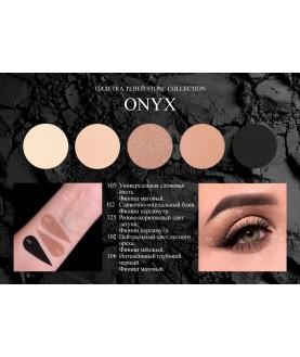BERNOVICH Тени для век Stone collection (7,5г) Onyx