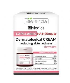 BIELENDA Крем уменьшающий покраснения дневной/ночной DR MEDICA CAPILLARY SKIN 50 мл
