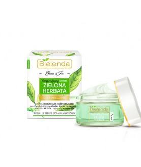 BIELENDA Регулирующий крем ночной  GREEN TEA/ЗЕЛЕНЫЙ ЧАЙ 50 мл