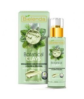 BIELENDA Веганская сыворотка для лица с зелёной глиной BOTANICAL CLAYS 30 мл