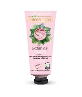 BIELENDA Веганский крем для лица с розовой глиной день/ночь BOTANICAL CLAYS 50 мл