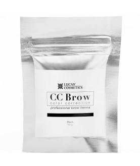 CC BROW Хна для бровей, цвет - черный (в саше) 10 гр